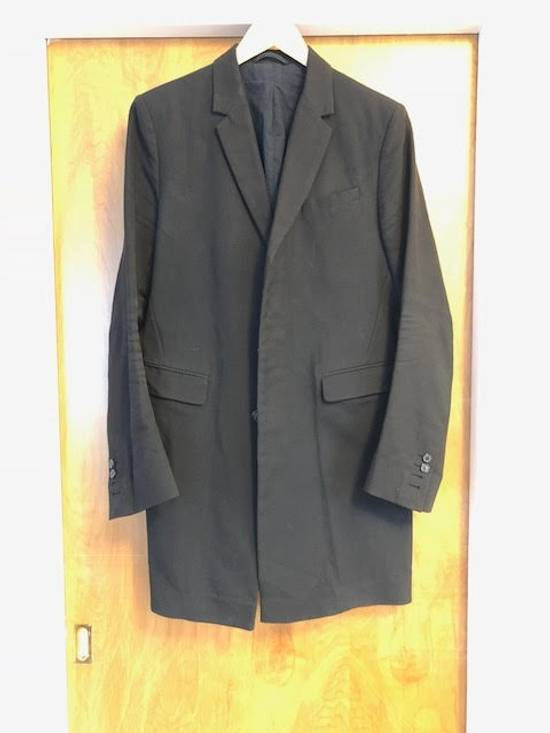 Balmain Decarnin-era black tailored overcoat/long blazer Size US M / EU 48-50 / 2
