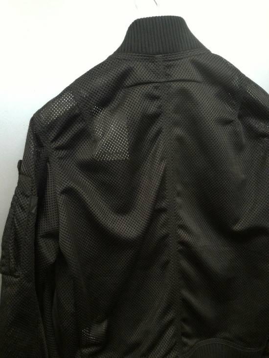 Givenchy MA-1 Mesh Black Bomber Size US M / EU 48-50 / 2 - 3