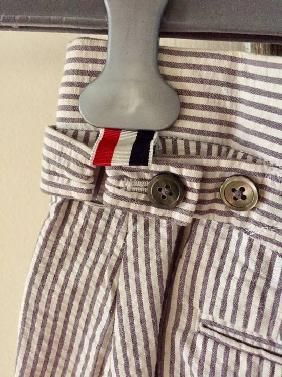 Thom Browne Striped Short Sleeve Short Suit w/ Shirt Size 36S - 6