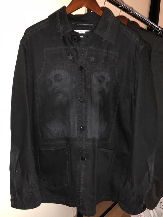 Givenchy SS16 Christ Print Denim Jacket Size US S / EU 44-46 / 1
