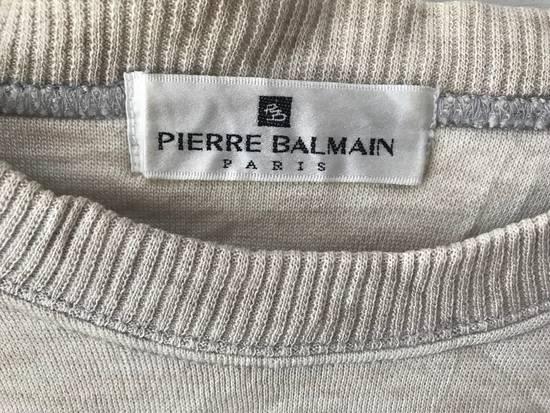 Balmain Vintage Sweater Pierre Balmain Spellout logo embroidery authentic Size US L / EU 52-54 / 3 - 3