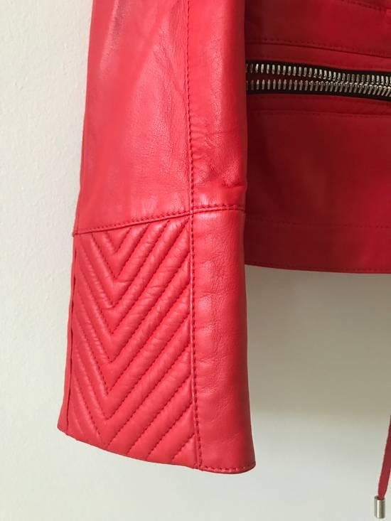 Balmain Nappa Leather Biker Jacket Size US M / EU 48-50 / 2 - 3