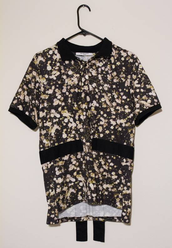 Givenchy Floral Button Up Polo Size US S / EU 44-46 / 1