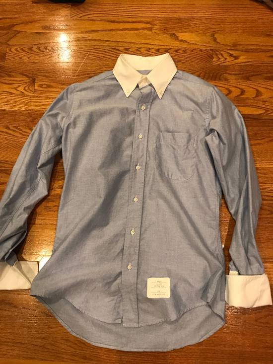 Thom Browne French Cuff Shirt Size US S / EU 44-46 / 1