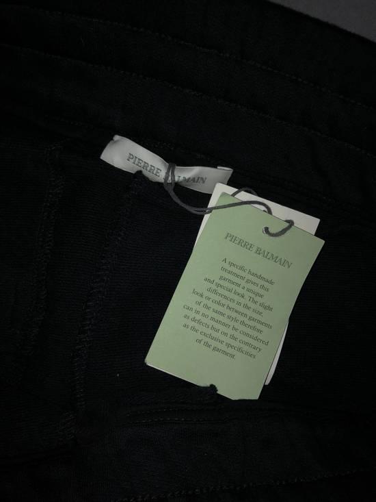 Balmain PIERRE BALMAIN Sweatpants biker black size 50 Size US 34 / EU 50 - 7