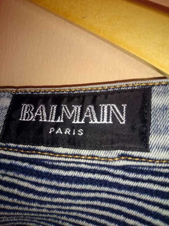 Balmain Balmain Biker Jeans Not Prada Burberry Hermes Gucci Rick Owens Issey miyake commes des Garcons a.p.c acne momotaro Size US 32 / EU 48 - 3
