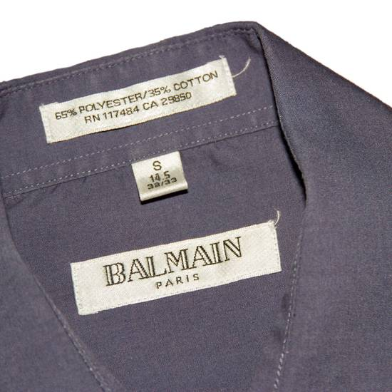 Balmain Vintage Balmain Dress Shirt Size US S / EU 44-46 / 1 - 1
