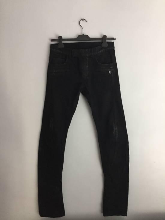 Balmain Distress Waxed Jeans Size US 28 / EU 44 - 10