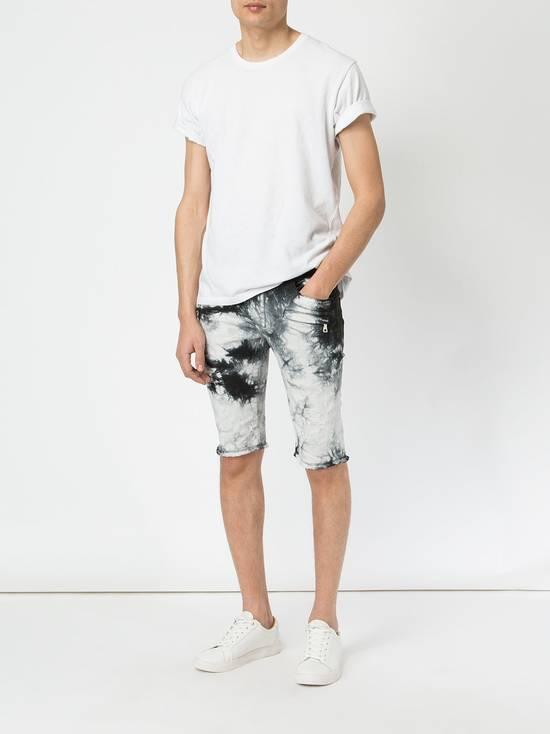 Balmain Black Tie Dye Shorts Size US 30 / EU 46 - 2