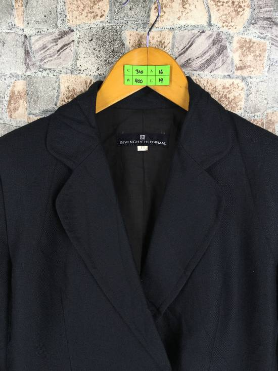 Givenchy GIVENCHY Ladies Coat Jacket Small Black Vintage Designer Givenchy Yohji Comme Des Buttondown Formal Blazer Cropped Women Size S Size US S / EU 44-46 / 1 - 1