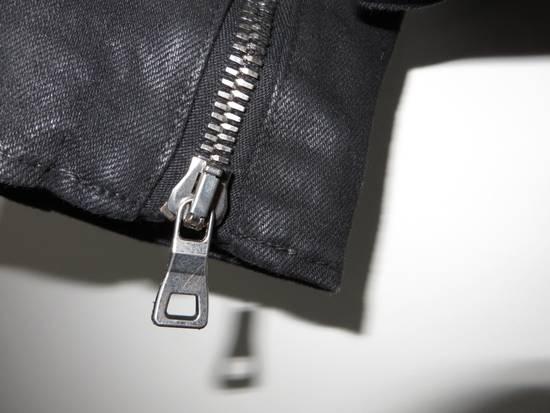 Balmain Waxed denim perfecto biker jacket Size US M / EU 48-50 / 2 - 11