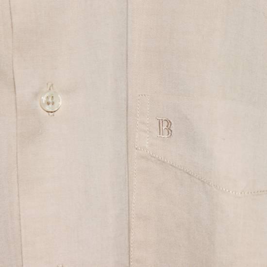 Balmain Vintage Balmain Paris Men's Longsleeve Button Shirt Beige Size M L 39 40 Cotton Size US M / EU 48-50 / 2 - 8