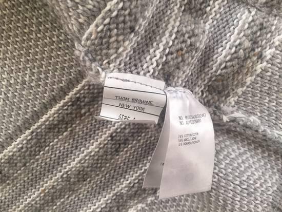 Thom Browne Gray Sweater Size 4 $650 Size US XL / EU 56 / 4 - 2