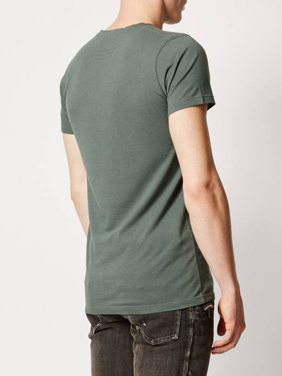 Balmain $650 Balmain Mens Medium (3)Three Pack Wool Teeshirts Blue/ Green/ Gray Italy Size US M / EU 48-50 / 2 - 3