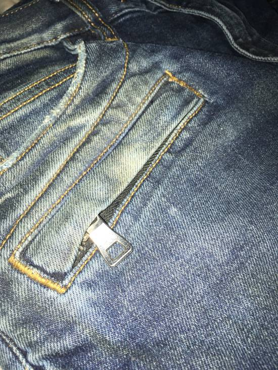 Balmain Slim Biker Jeans Size US 31 - 3