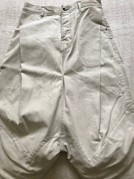 Julius AW14 painted low crotch denim cropped pants Size US 32 / EU 48 - 1