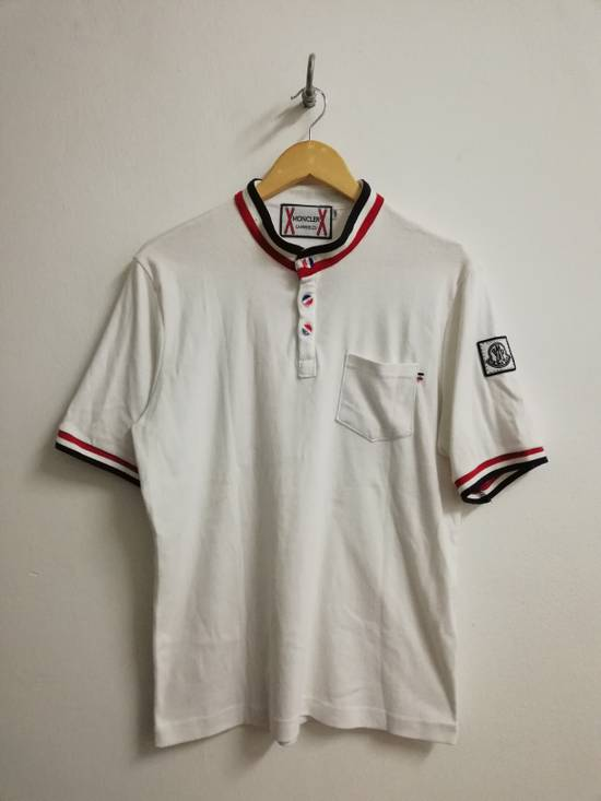 Thom Browne Moncler Gammebleu x Thom Browne Single Pocket Button Up Shirt Size US XXL / EU 58 / 5