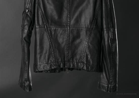 Julius = last drop = 2008SS ram leather jacket Size US M / EU 48-50 / 2 - 4