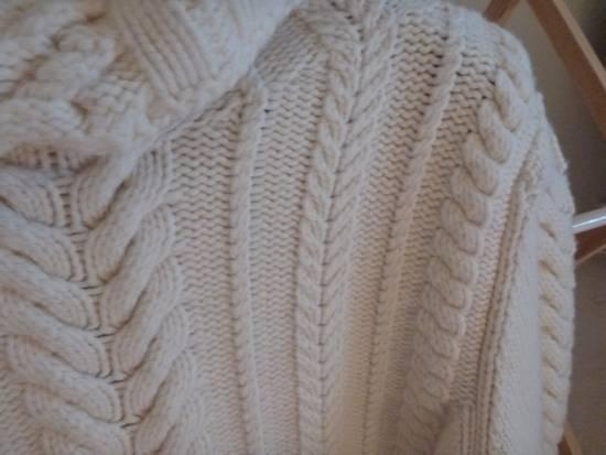 Balmain Cable Knit Sweater Merino Size US L / EU 52-54 / 3 - 2