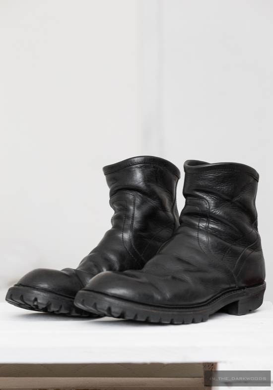 Julius = last drop = engineer vibram sole leather boots Size US 9.5 / EU 42-43 - 3