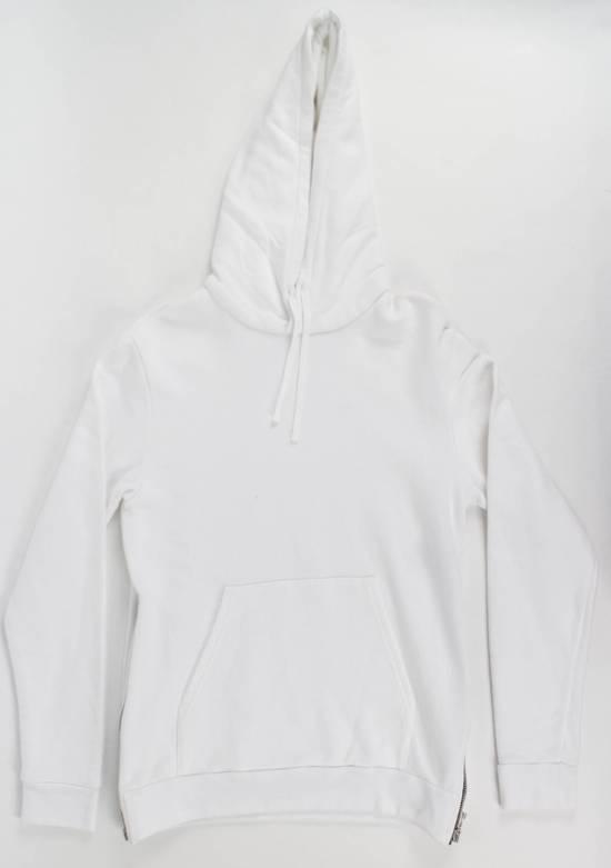 Balmain White Cotton Hooded Sweatshirt Size S Size US S / EU 44-46 / 1