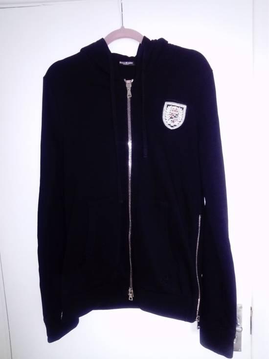 Balmain Balmain side zipped Crest hoodie L Size US L / EU 52-54 / 3