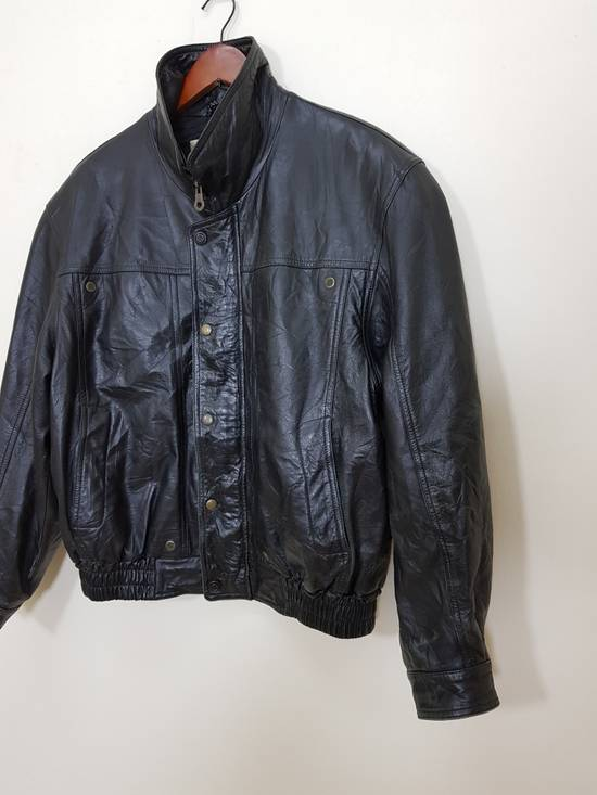 Balmain Authentic Pierre Balmain Riding Bomber Leather Jacket Size US L / EU 52-54 / 3 - 21