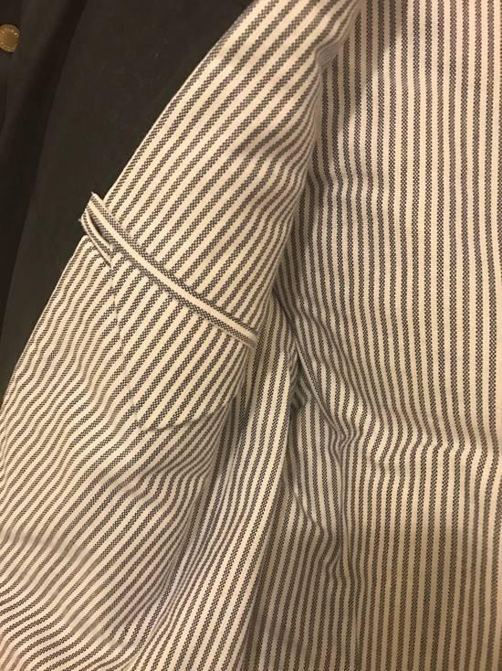 Thom Browne Gamme Bleu Wool Quilted Down Blazer Size US XS / EU 42 / 0 - 4