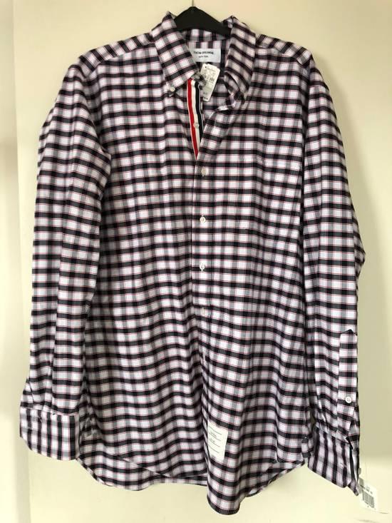 Thom Browne Check Shirt Size US L / EU 52-54 / 3