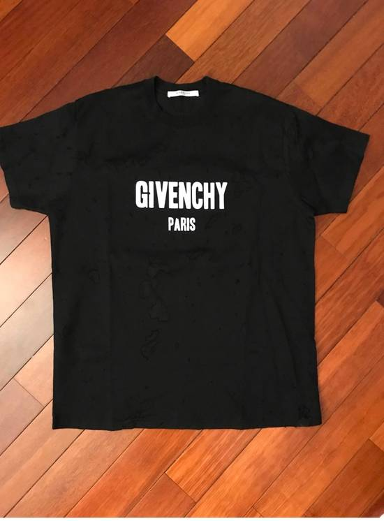 Givenchy Givenchy distressed logo t shirt Size US XS / EU 42 / 0
