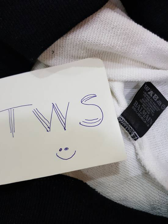 Balmain White Balmain Logo Sweater Size US S / EU 44-46 / 1 - 4