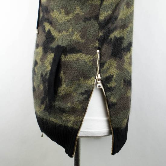 Balmain Camouflage Wool Blend Zip Up Hoodie Size S Size US S / EU 44-46 / 1 - 5