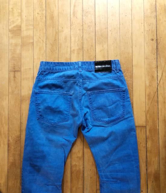 Balmain *Last Drop* Slim Denim Jeans Size US 30 / EU 46 - 3