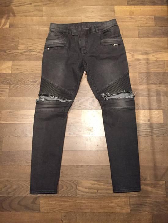 Balmain Balmain Custom Biker Jeans Size 32 Size US 32 / EU 48