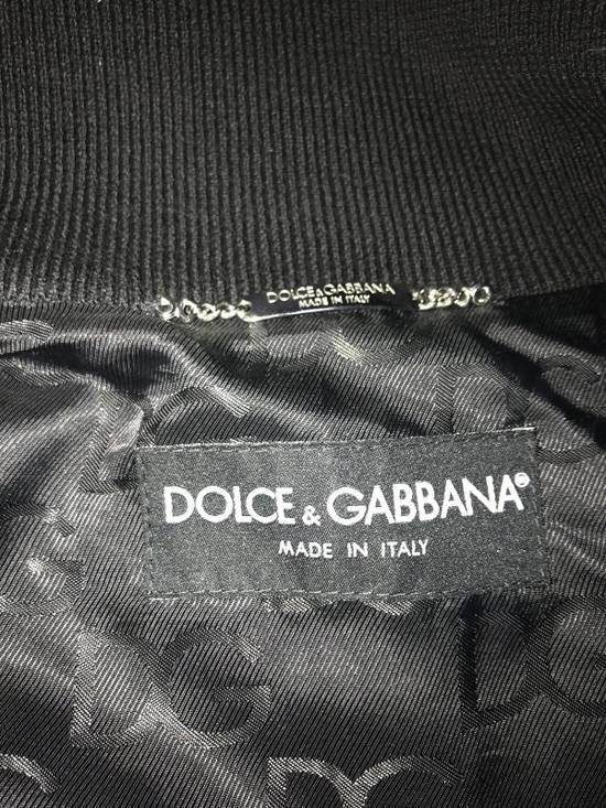 Givenchy Men's Dolce & Gabanna Quilted Leather Bomber Jacket Size 48 Size US M / EU 48-50 / 2 - 7