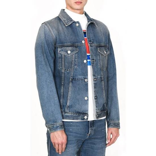Givenchy 4G Embroidered Denim Jacket Size US XL / EU 56 / 4 - 3