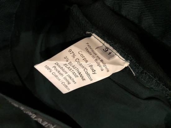 Balmain Balmain Biker Jeans Green Cotton Size US 31 - 6