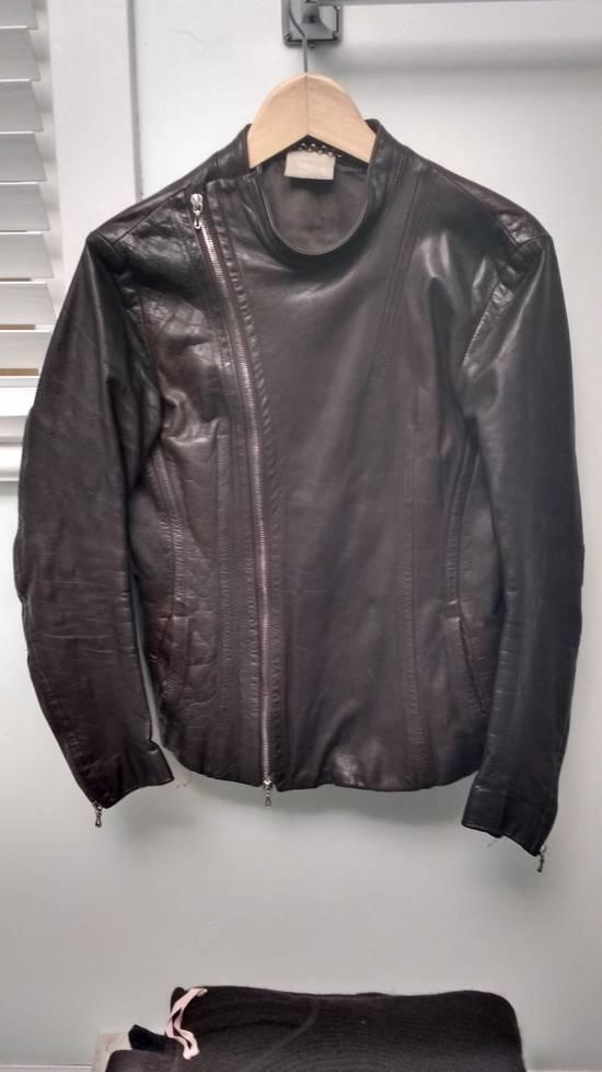 "Julius FINAL DROP a/w 2005 ""thieves"" leather fencing jacket Size US M / EU 48-50 / 2"