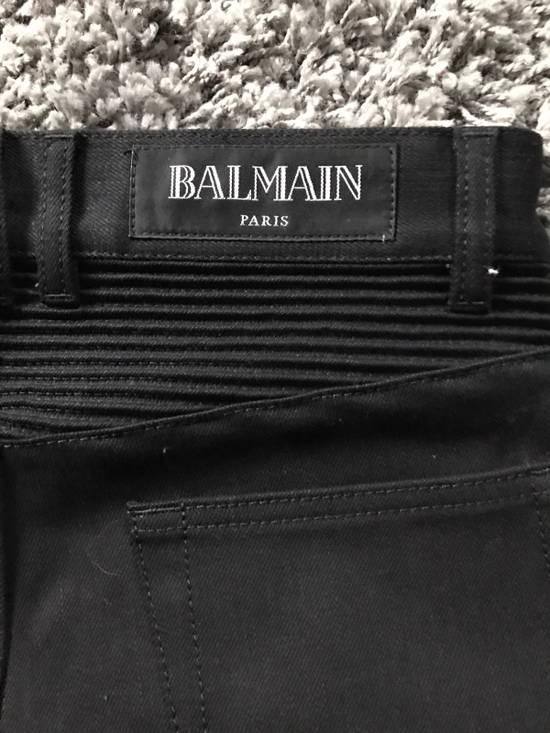 Balmain Balmain Biker Jeans Noir/Black Size 28 Size US 28 / EU 44 - 2