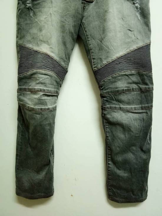 Balmain Rare Grey Balmain Denim Nice Faded Design Size US 36 / EU 52 - 4
