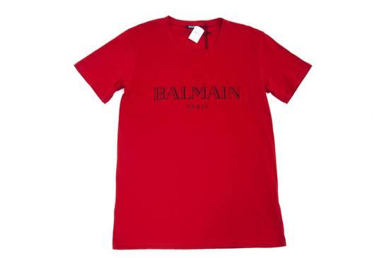 Balmain Red Logo Shirt Size US M / EU 48-50 / 2 - 6