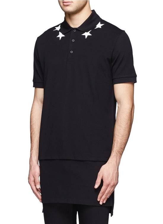 Givenchy Givenchy Star Print Extended Hem Rottweiler Shark Polo Shirt T-shirt size XS (S) Size US S / EU 44-46 / 1 - 1