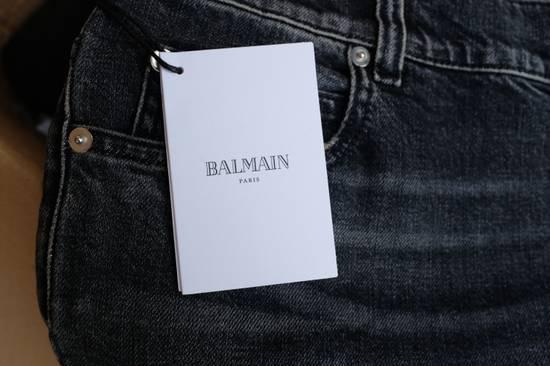 Balmain Black Stonewashed Jeans Size US 30 / EU 46 - 10