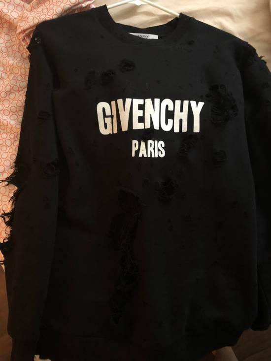 Givenchy Givenchy Destroyed Logo Sweatshirt Size US XS / EU 42 / 0