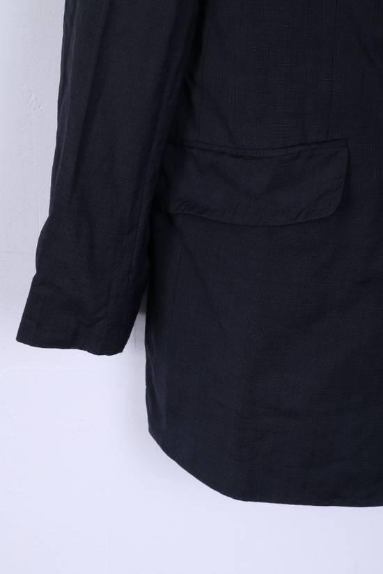 Balmain Balmain Mens 40 M Jacket Navy Wool Single Breasted Blazer 4515 Size 40R - 2