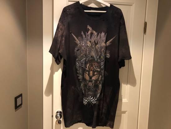 Balmain Oversized Tiger Print T-shirt Size US XXL / EU 58 / 5
