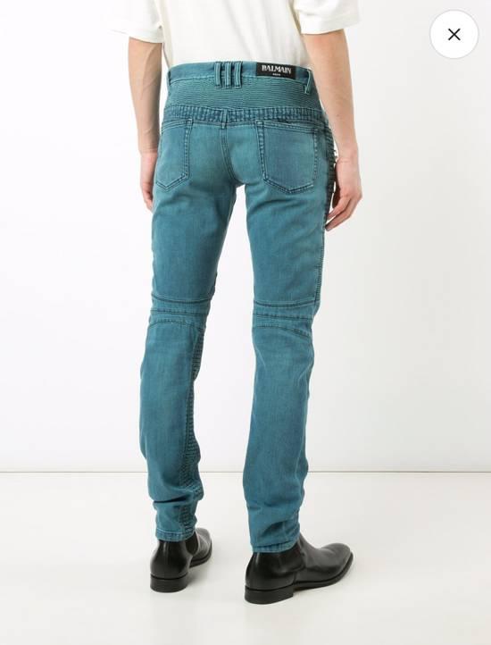 Balmain Biker Jeans Size US 31 - 3