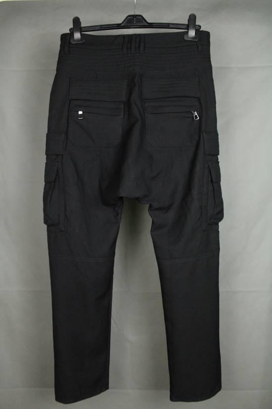 Balmain Balmain X H&M Cargo Biker Wool Pants Size EUR30 Size US 30 / EU 46 - 9