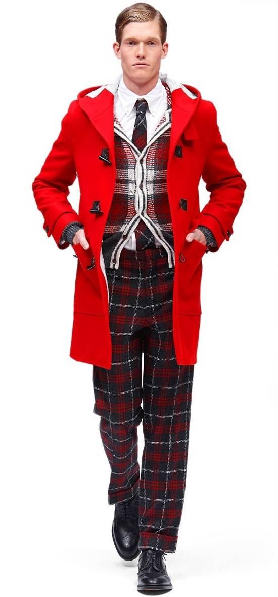 Thom Browne Wool Plaid Cardigan Jacket Size BB3 VERY RARE Size US L / EU 52-54 / 3 - 2