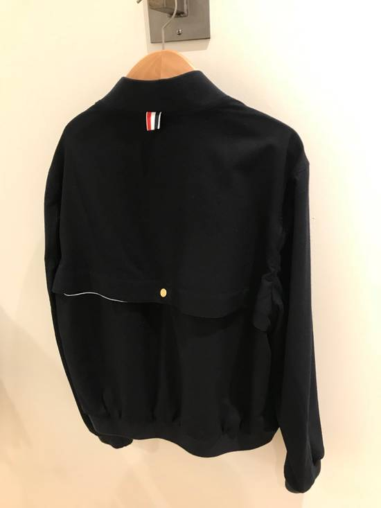 Thom Browne Light Weight Cashmere Storm Flap Bomber Jacket Size US L / EU 52-54 / 3 - 4